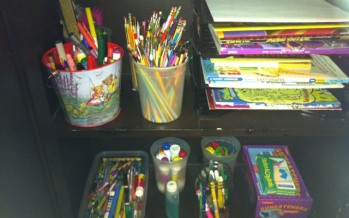 How To Get Organized aka The Pencil Mutiny!
