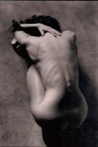 nude woman,
