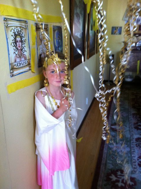 How To Throw A Greek Mythology Party For Kids Shannon Bradley