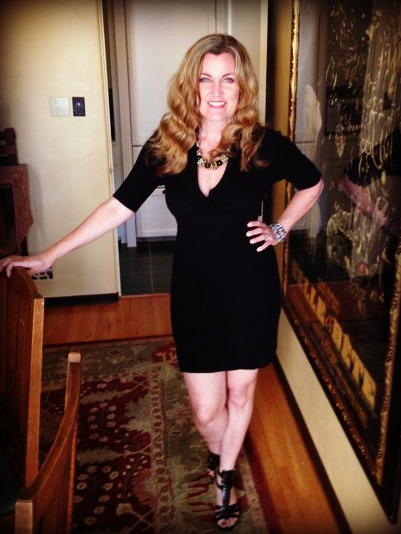 This LBD was purchased several years ago at a Nordstrom yearly sale and makes me feel hip.