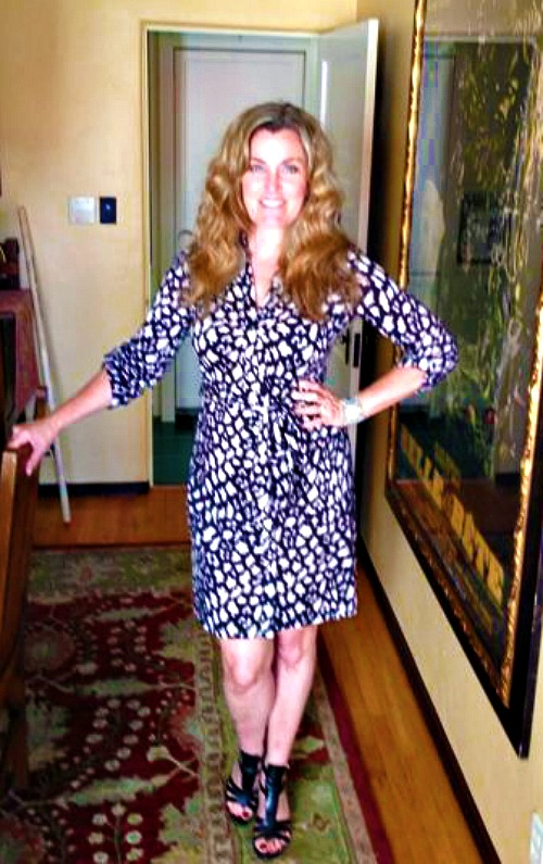 Dress #32 -- believe it or not this ISN'T from Boden.  I belive it was a White House Black Market purchase.