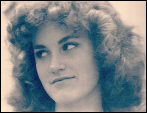Me big hair high schoolpic