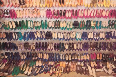 Here are just a few of her shoes.