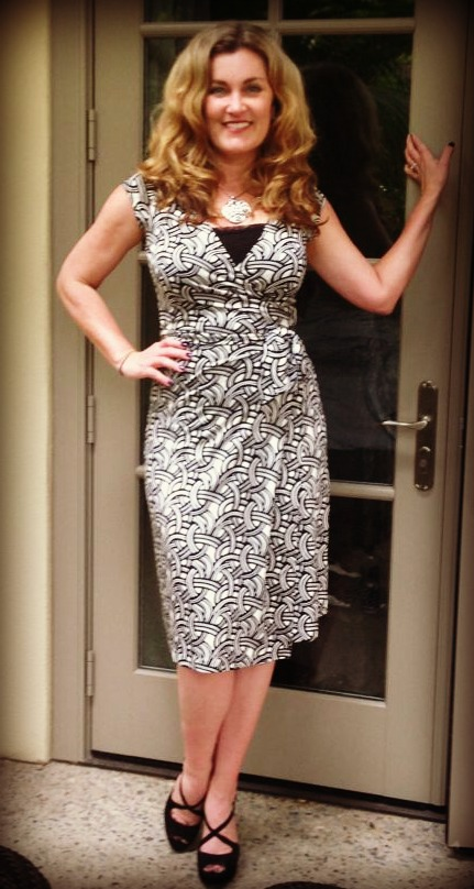 Dress #53. This is a long-ago Banana Republic purchase. Not that in love with it anymore.