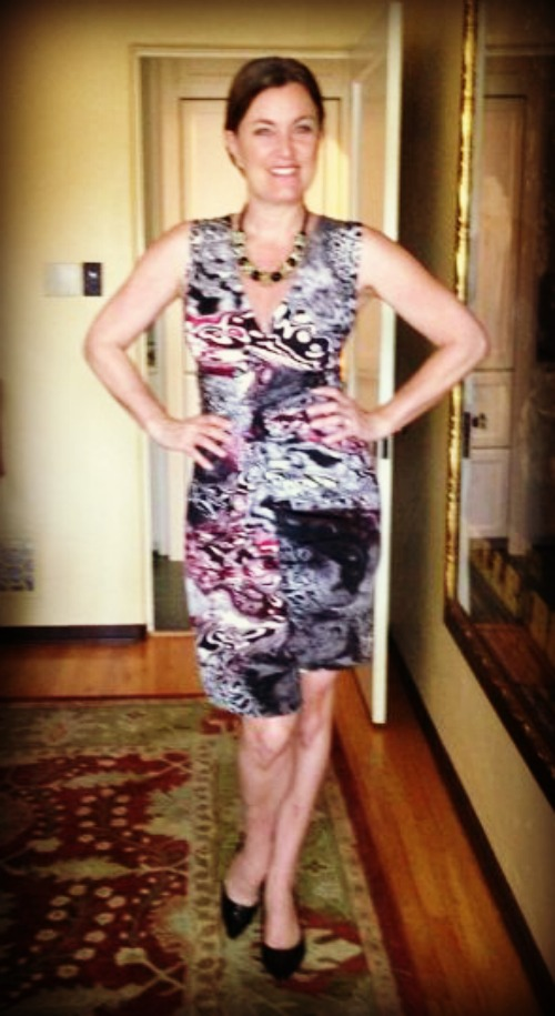 Dress #63.  I purchased this dress in Franschhoek, South Africa.  I'll be buried in it.