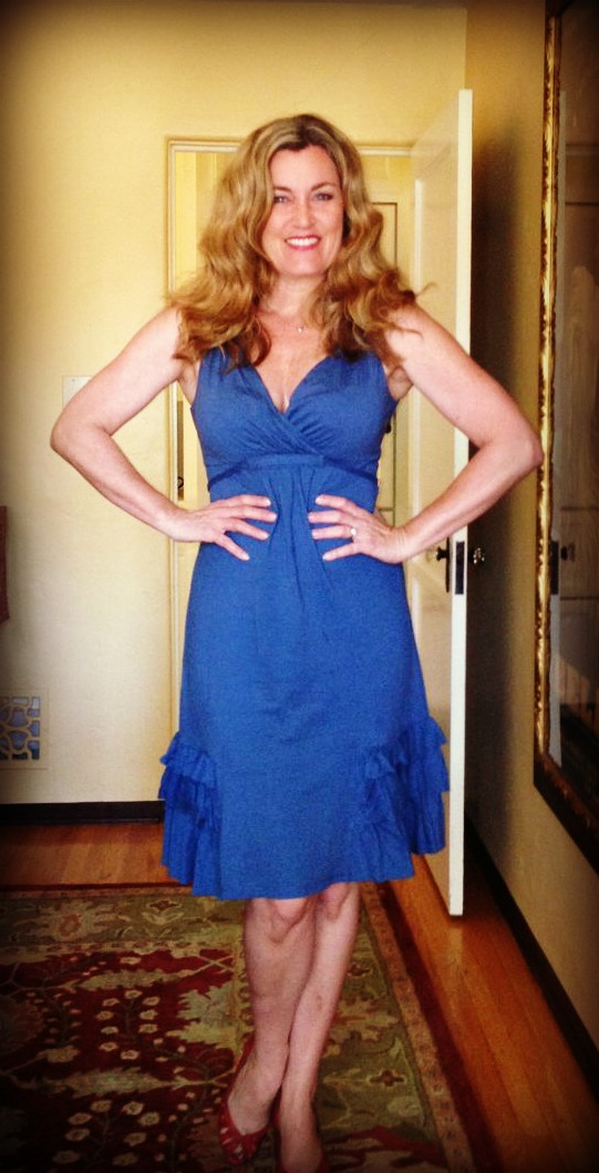 Dress #65. This one is from Anthropologie and while I love the color and cut, it too seems a bit young.