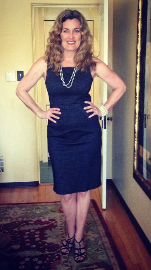 Dress #70. I also got this Mad Men-esque dress during the same trip to London.