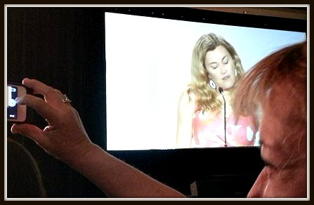 Speaking at BlogHer 3pic