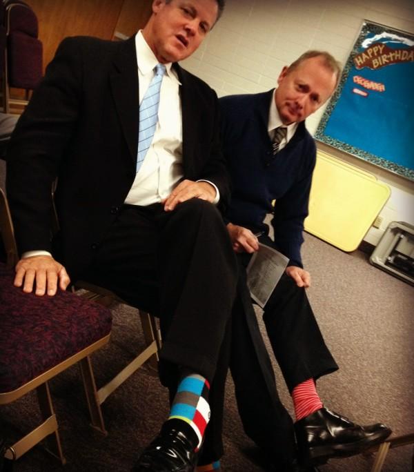 Kenny and Michael sockspic