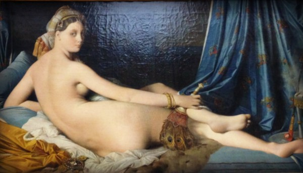 "Although I had some explaining to do about posing for Jean Auguste Dominique's ""The Grande Odalisque"" in a previous life circa 1814. I am hoping my girls will be the artist rather than the model."
