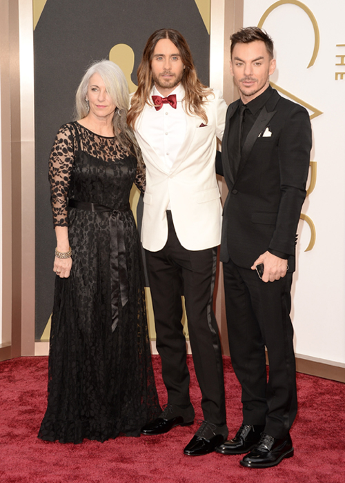 Oh, to be Jared Leto's mother. Wait. Is that creepy? Photo credit: Getty Images