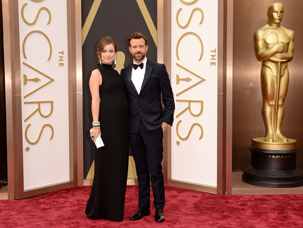 Why is it now that Olivia Wilde thinks Jason Sudeikis is hot, I do too? Photo Credit: Getty Images