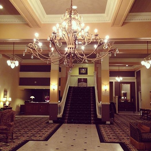 (I'm whispering) this is the lobby. Redrum.