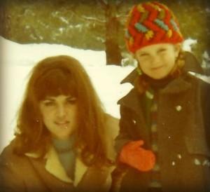 My unsuspecting, ravishing mom circa 1970