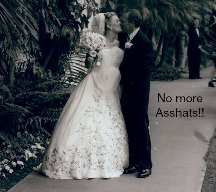Kissing My Man asshat wedding