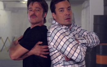 One of the Many Reasons to Swoon Over Jimmy Fallon. Oh, and Brad Pitt too.