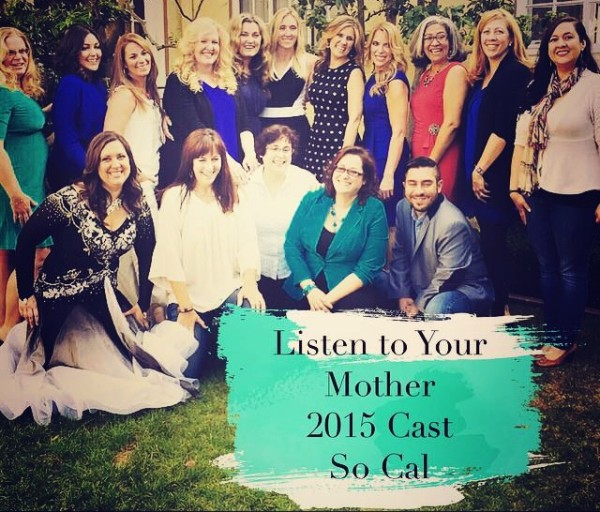 Listen To Your Mother Cast Courtyard