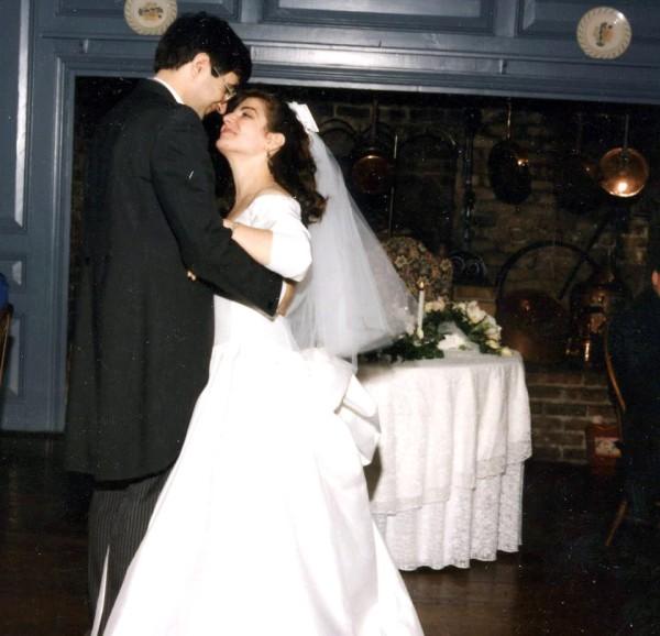 Kathy Radigan Wedding Photo