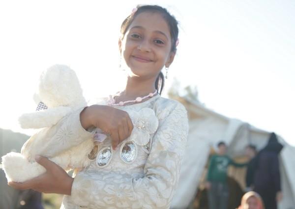 Girl in White Pic